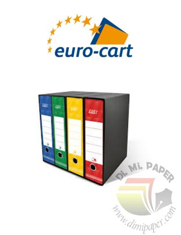 Registratore Easy con meccanismo a leva Verde 343x285 Dorso 8 - EuroCart - RSP8VE