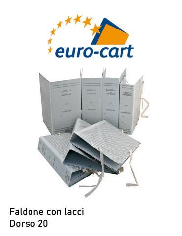 Faldone con lacci - Dorso 20- EuroCart CA20