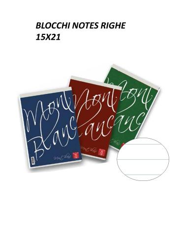 Blocchi notes 15x21 a righe - PIGNA
