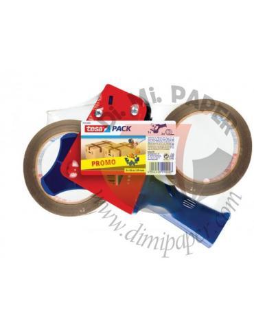 Tesa Promopack dispenser + 2 nastri 66x50 Avana - 57455